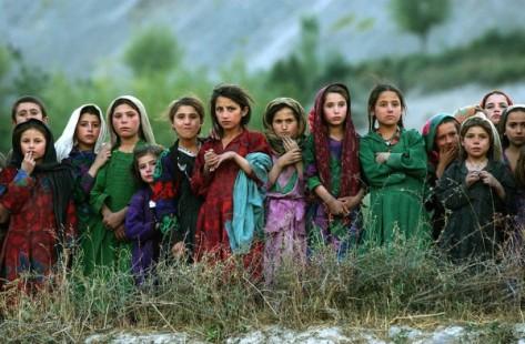 Little Afghan Flowers