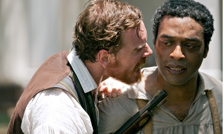 12 Years a Slave: Michael Fassbender and Chiwetel Ejiofor