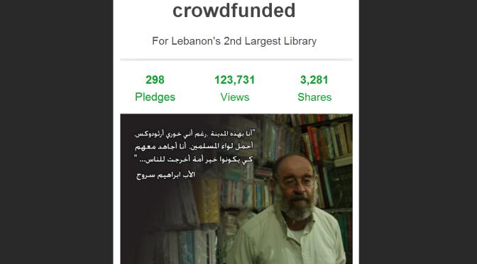 Kafana Samtan Campaign to Restore Al-Saeh Library a Success