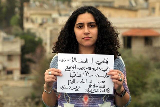 Farah from Palestine