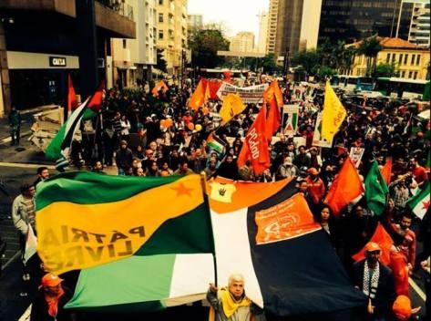 Sao Paulo #SOSPalistina