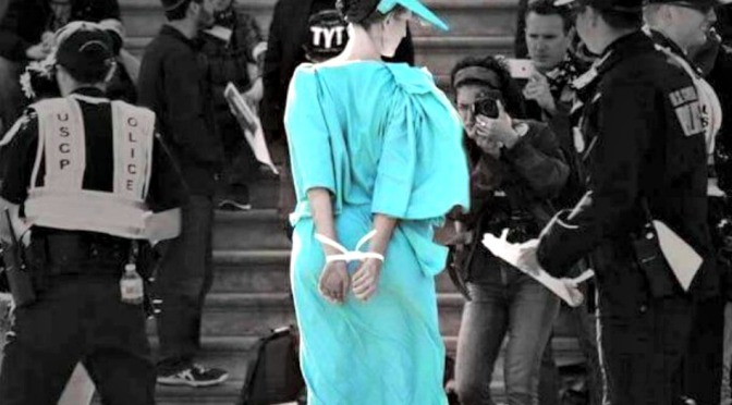 Democracy Spring: Liberty Arrested