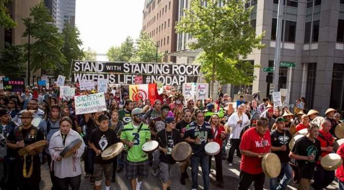 Washington Tribes Demand Obama to Stand with Standing Rock