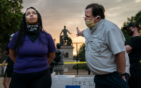 Telling Image of Race at DC Emancipation Statue