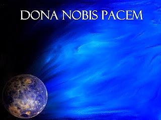 Blue peace globe template for Nov 4