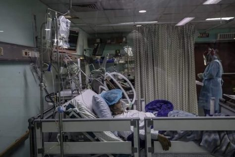 The situation with the pandemic in Palestine is catastrophic and is getting worse, warns a health official