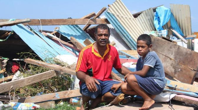 Two dead, entire villages destroyed after 'ferocious' Cyclone Yasa smashes Fiji