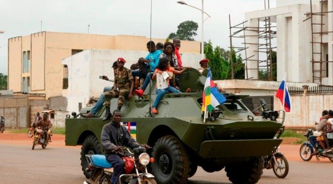 Russia to withdraw all military instructors from the Central African Republic.