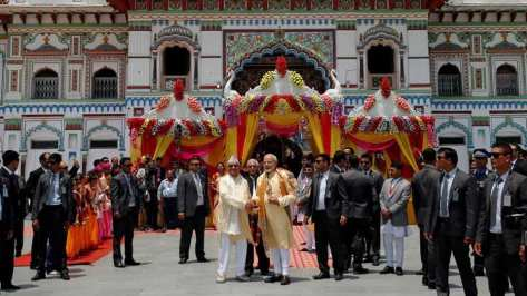 India is looking to revive the religious and cultural heritage of Nepal given the civilizational ties between the two countries. PM Modi had visited the Janaki Mandir in Janakpur, during his 2018 visit.