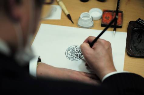 With hand-carved, high-quality hanko made by artisans considered virtually impossible to counterfeit, hanko culture — which has existed in Japan for more than a millennium — is likely to endure. | RYUSEI TAKAHASHI