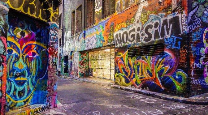 Graffiti, vandalismo ou arte?