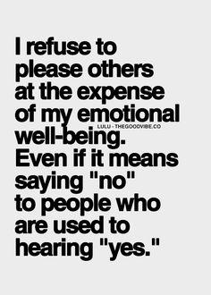 say no, refuse, set boundaries, self-care