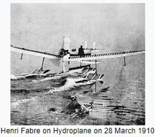 1910 – Henri Fabre becomes the first person to fly a seaplane