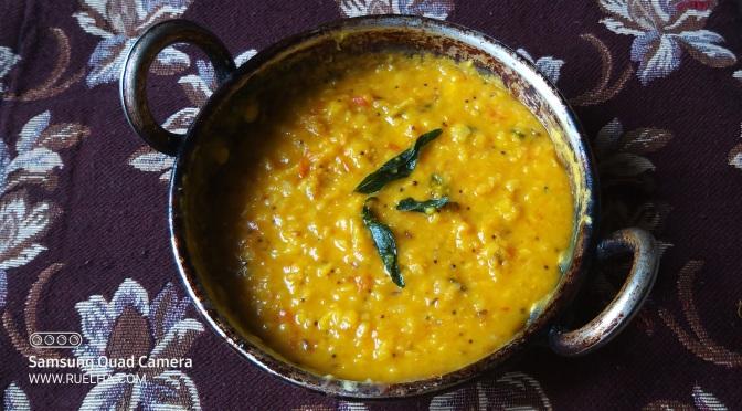 Recipe : Dal Tadka