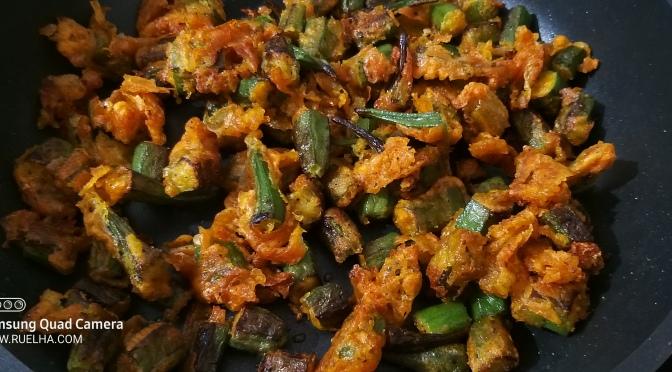 Recipe : Pan Fried Okra