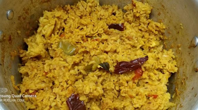 Recipe : Spicy Masala Khichdi