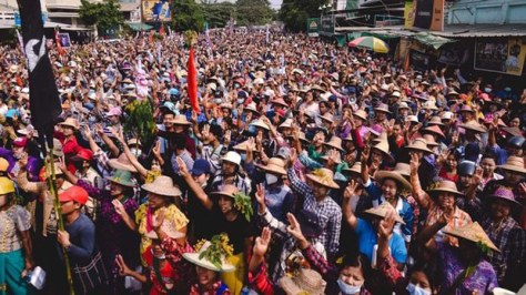 12 Protesters Killed as Troops Attack Pocket of Resistance in Northwest Myanmar