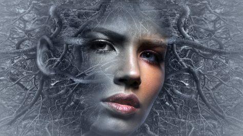 wallpaper et fond d'écran portrait art graphique femme woman digital numérique graphic image picture photo photographie