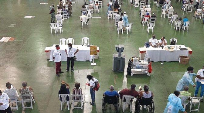 "Second ""Blitz"" vaccinates over 1,000 Jamaican elders"