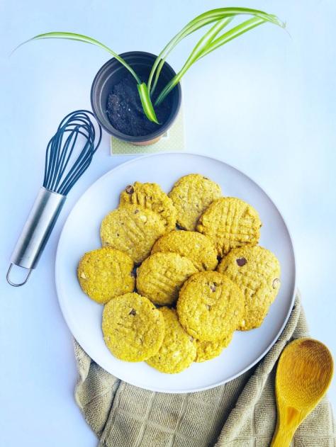 Vegan, Nut-free Chocolate Chip Cookies