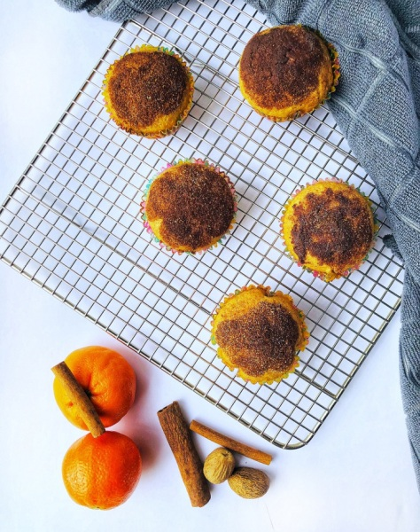 Surprise Nutella Muffins