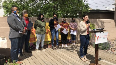 Elected leaders and 'dreamers' call for a pathway to citizenship.