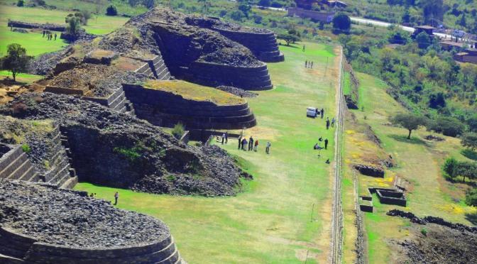 Rutas de un viajero: Capítulo I. Zona arqueológica de Tzintzuntzan