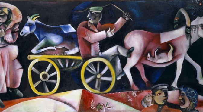Marc Chagall, um pintor russo surrealista