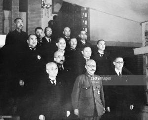 Gen. Hidecki Kojo and Cabinet