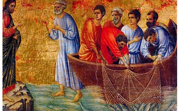 """""""Rabbi, la rete è piena, come mai tutto 'sto pesce oggi?"""""""