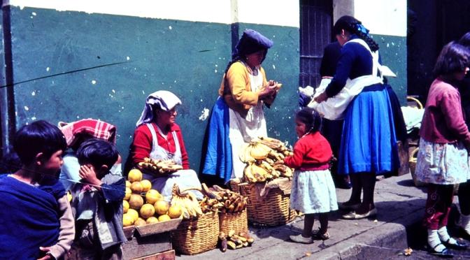 Ecuador, Quito, die höchstgelegene Hauptstadt der Welt