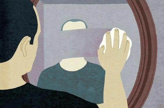 """La Ley del Espejo: """"Lo que niegas, te somete y lo que aceptas, te transforma""""."""