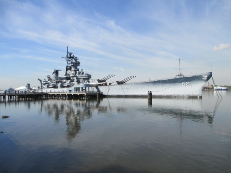 USS New Jersey (BB-62) Camden NJ USA