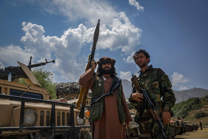 Taliban opponents in the Panjshir Valley on August 19