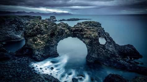 wallpaper et fond d'écran belle nature nice beautiful rocher paysage landscape eau mer photo photographie photography