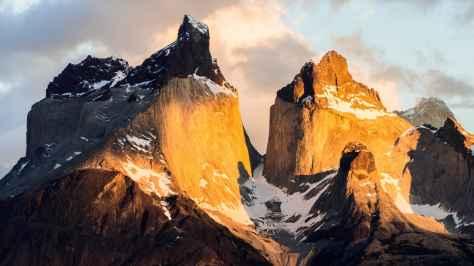 wallpaper et fond d'écran Parc National Chili nature paysage landscape montagne mountains pays magnifique voyage travel tourisme tourist photo photographie photography
