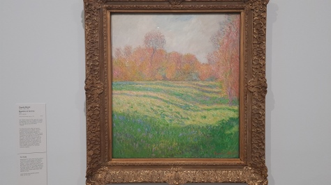 Meadow at Giverney by Monet. Content Catnip